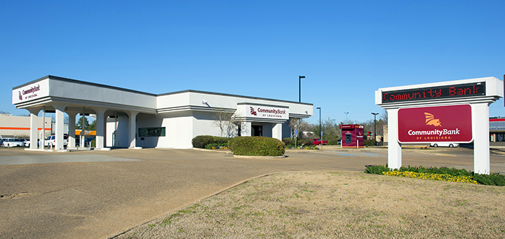 exterior of South Shreveport office