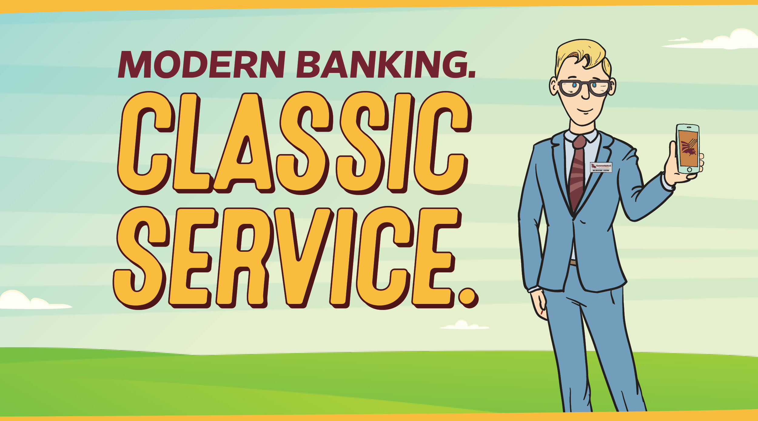 Modern Banking Classic Service